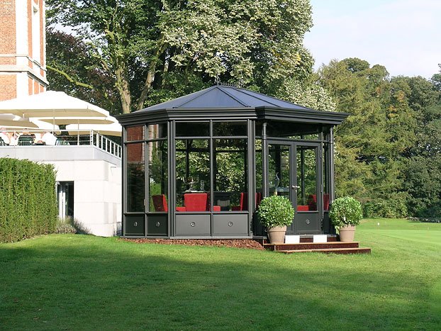 pin raum f r raucher smokers pavillon verandas. Black Bedroom Furniture Sets. Home Design Ideas